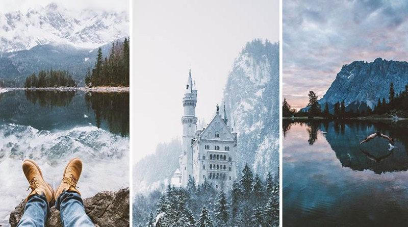 Янник Обенхофф — 16-летний начинающий фотограф-пейзажист из Германии. Он всегда любил находиться на