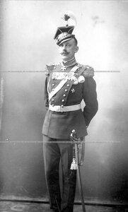 Генерал-майор, командир Уланского полка в 1910-1913 годах князь С.К.Белосельский-Белозерский.