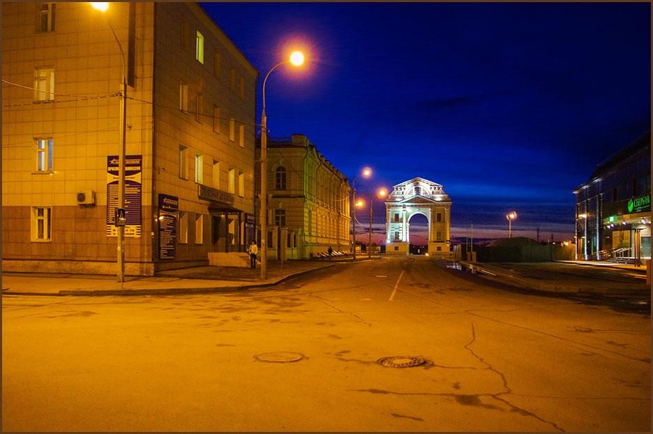 Ночной Иркутск