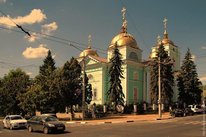 Преображенский собор, Белгород, 2013