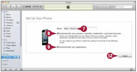 Подключите iPhone к компьютеру с помощью USB-кабеля