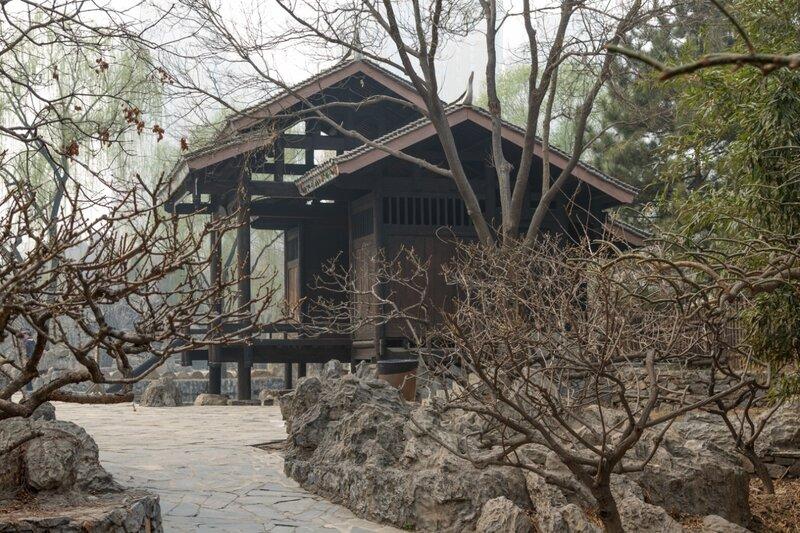 В парке народности цзин (вьеты), Парк национальностей, Пекин