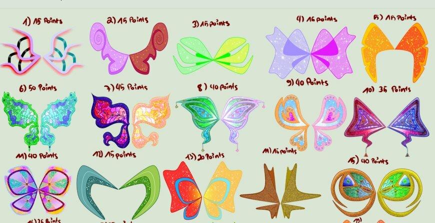 Винкс Звезды и сказочные крылья фей +игра одень фею
