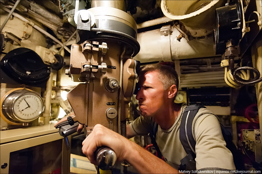 как называется бинокль на подводной лодке