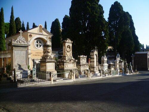 Италия. Рим. Кладбище (Italy. Rome. The grave).