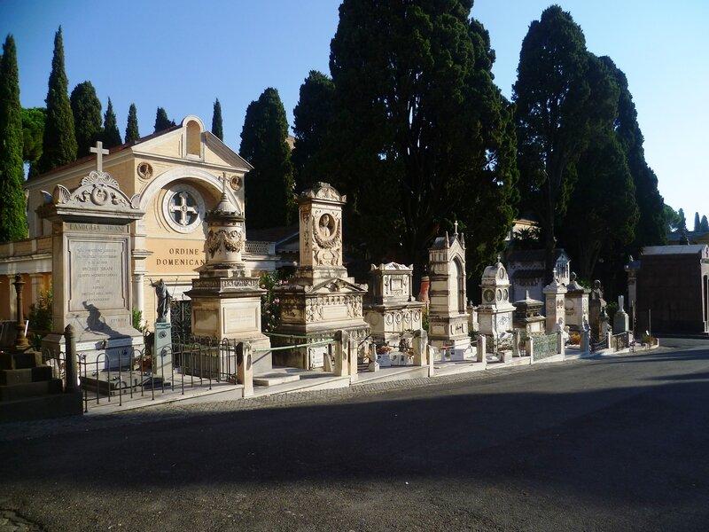 Кладбище в Риме (Cemetery in Rome)