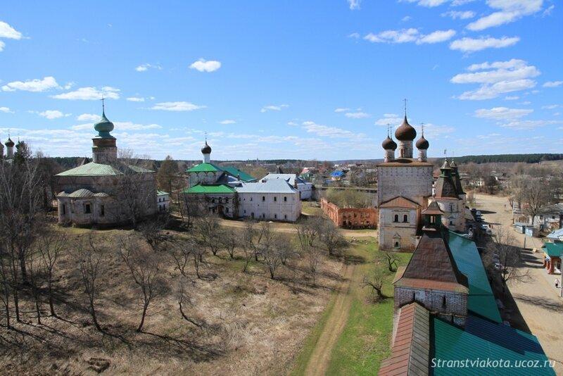 Борисоглебский мужской монастырь в Ярославской области