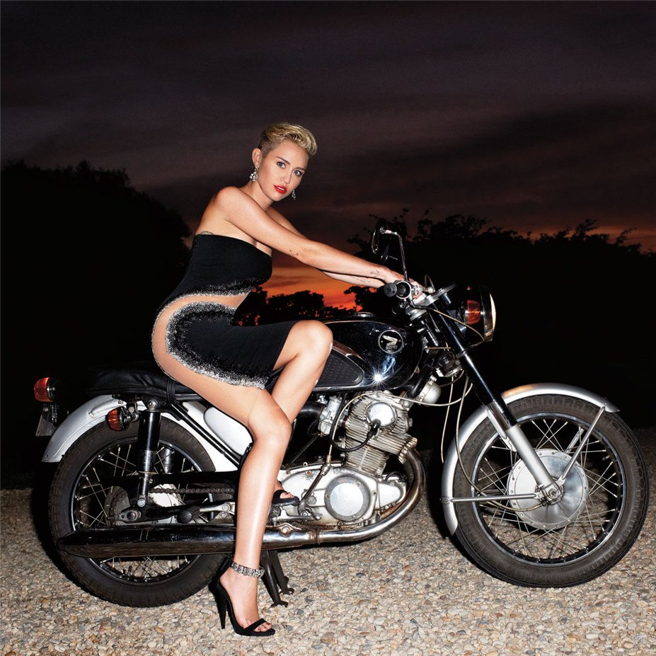 Мода от-кутюр и Майли Сайрус / Miley Cyrus by Terry Richardson in Harper's Bazaar US september 2013
