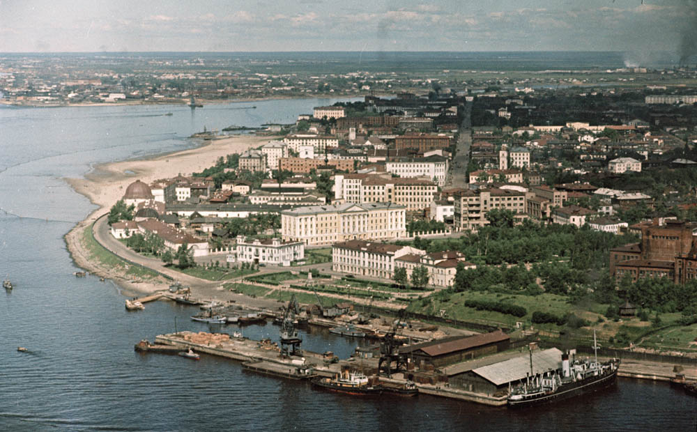 Архангельск. Красная пристань (середина 1950-х) 1000.jpg
