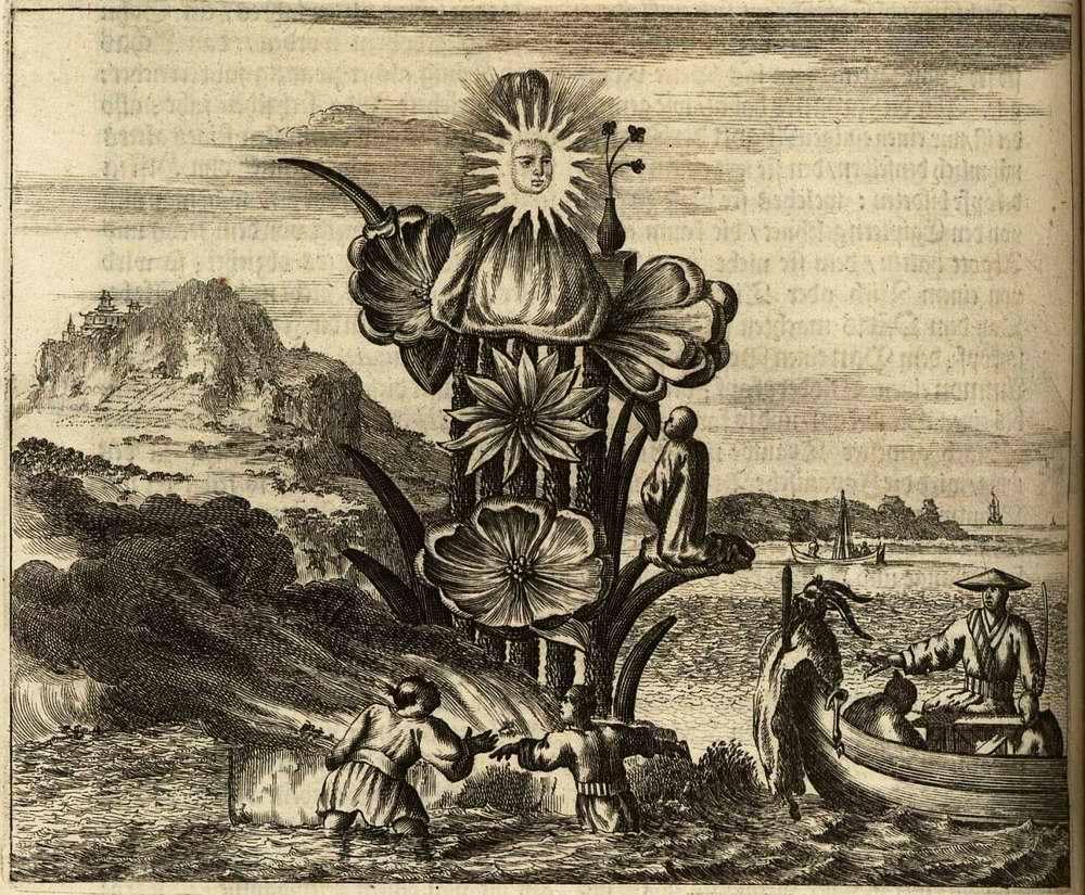 Япония глазами европейцев на гравюрах - 1670 год (22)