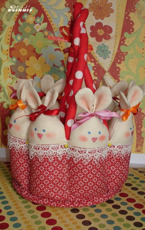 корзинка из зайцев