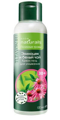 avon naturals крем-гель для умывания 30+