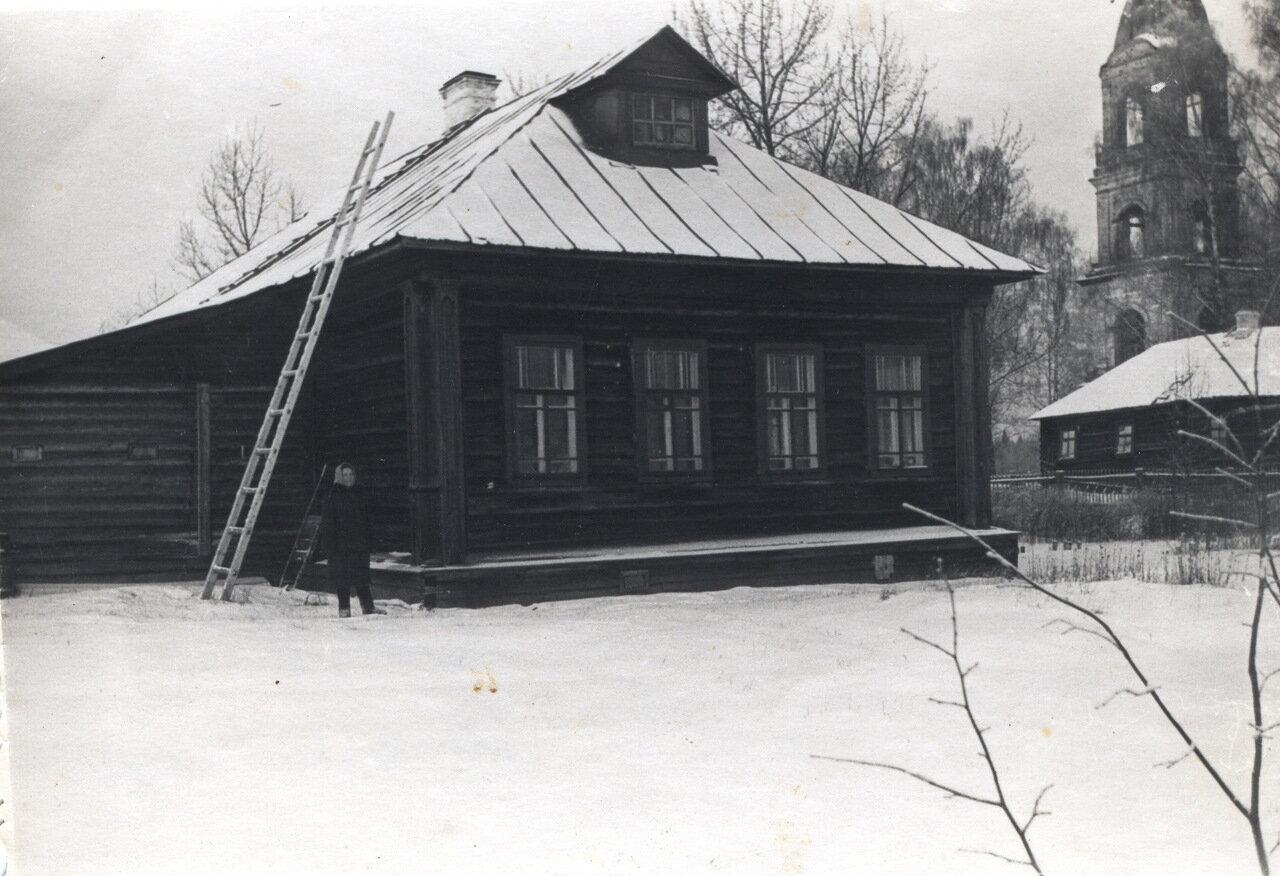Школа на Солде, Солигалический район Фото 1960-х годов.