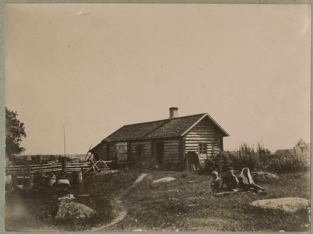 1900. Крестьянские дети в Кясму