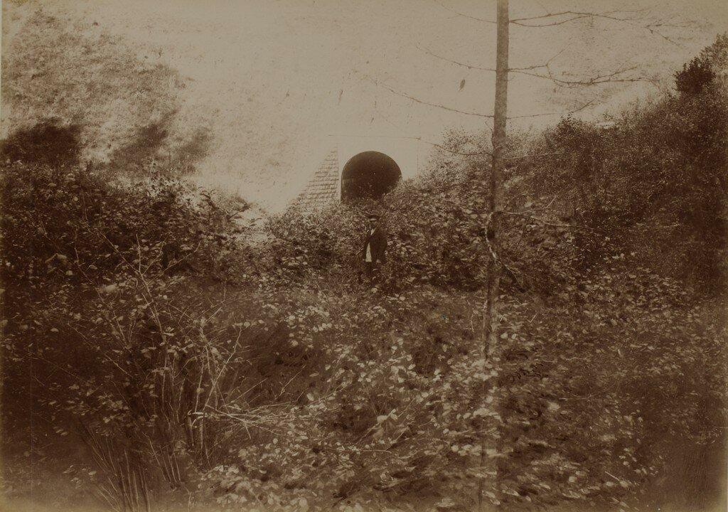 Железнодорожная водопропускная труба через Лорупе