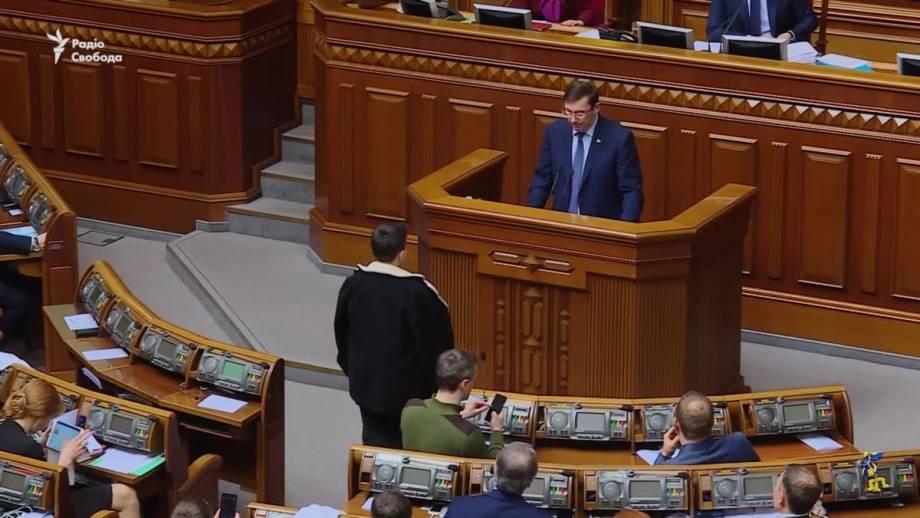 Рада разрешила привлечь к ответственности Савченко (видео)