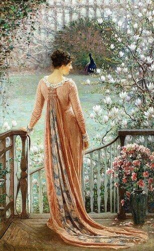William John Hennessy - A Spring Fantasy