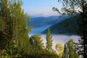 Утро в долине Белой Усы