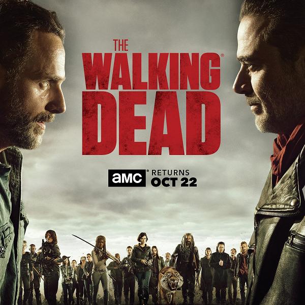 Ходячие мертвецы (1-8 сезоны: 1-115 серии из 115) / The Walking Dead / 2010-2017 / ПМ (LostFilm) / WEB-DLRip