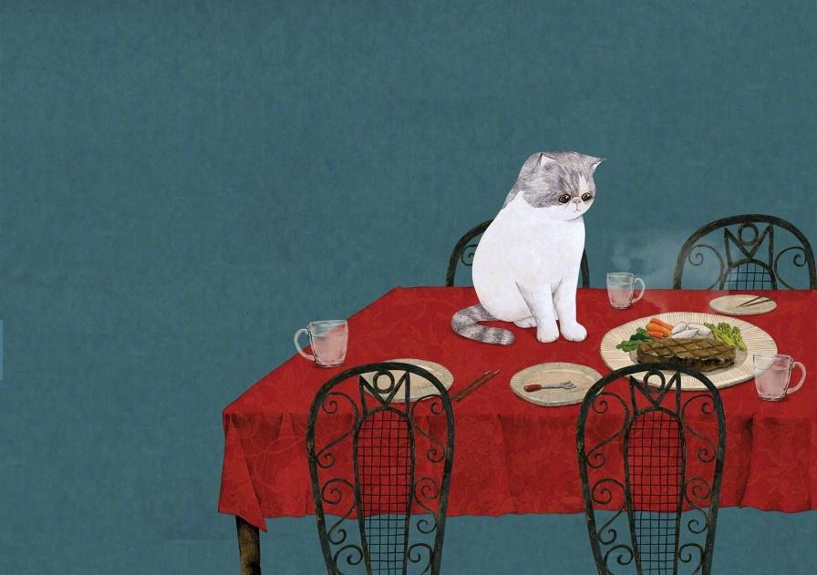 Мой друг Момо Мисунг, может, нежные, захватили, Только, любви, такой, сопротивляться, показывает, MISUN, просто, кошке, своей, историю, предлагает, HWANG, чувства