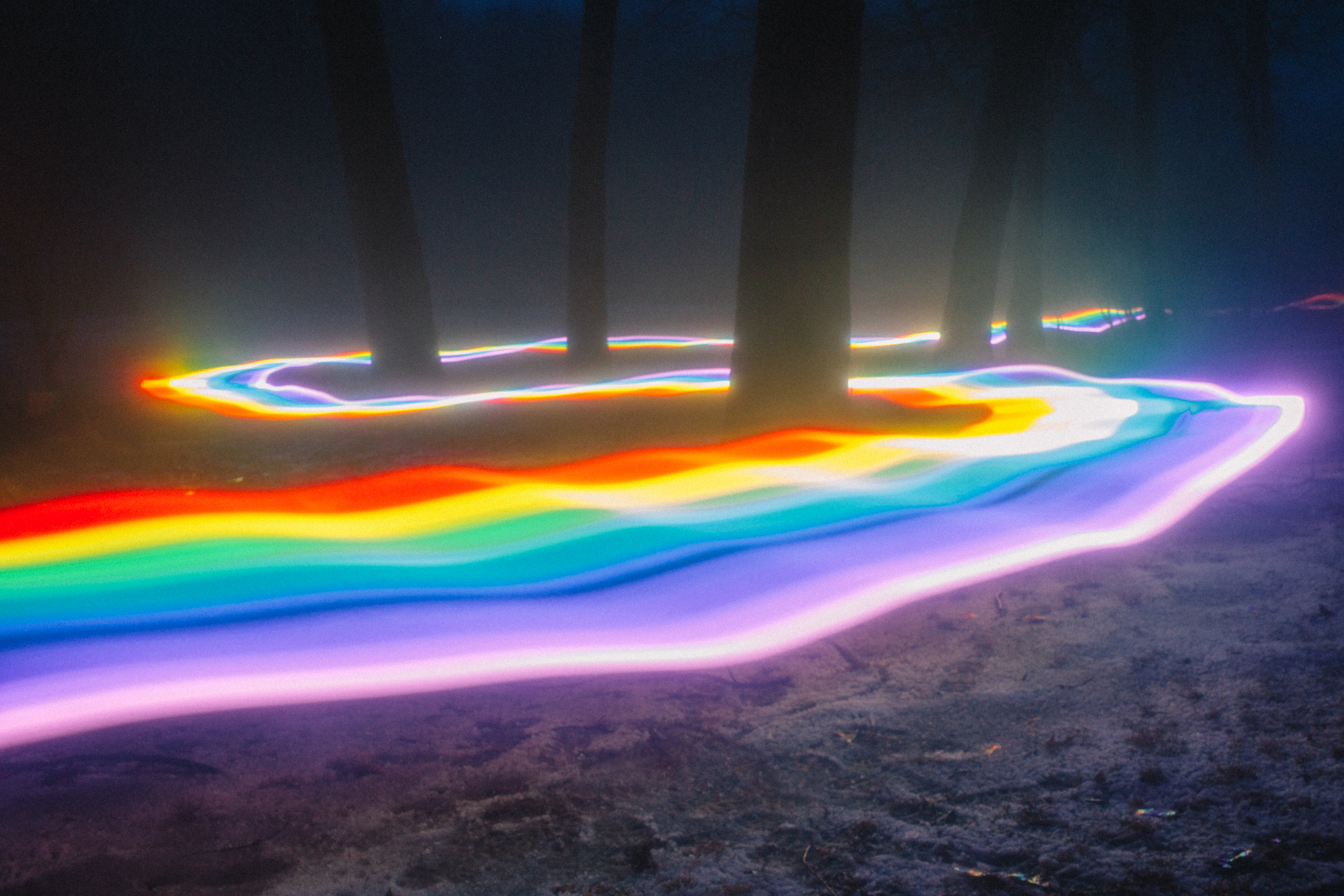 Magical Rainbow Roads (11 pics)