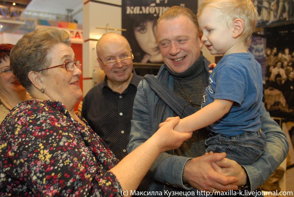 Олег Леушин и его мама