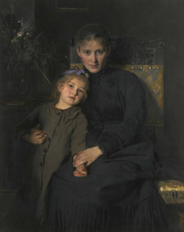 Tender Moments Bertha Wegmann