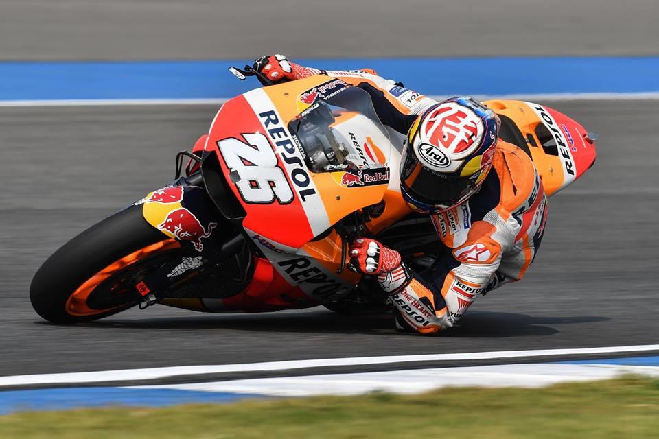 Финальный результаты тестов MotoGP 2018 в Таиланде