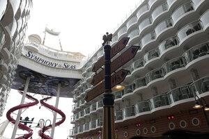 FRANCE TOURISM SYMPHONY OF THE SEAS