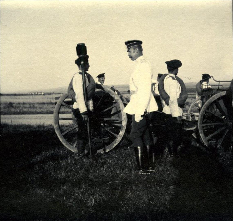 1900. Великий князь Борис Владимирович на маневрах