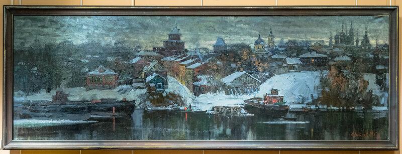 Выставка М.Г. Абакумова. Музей Зарайский Кремль.