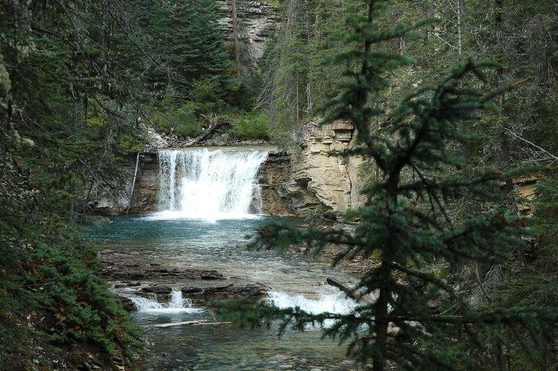 Скалистые горы Канады.  Каньон Джонстон.