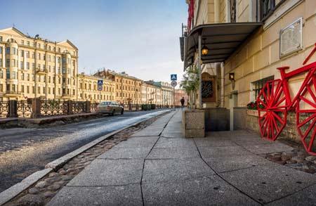 вкусно и недорого поесть в центре Петербурга