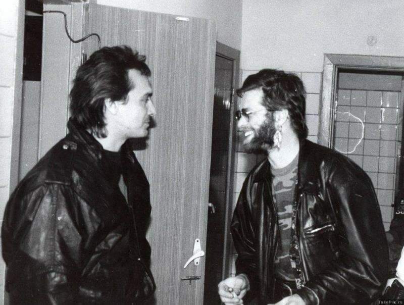 Редкие фото отечественных рок знаменитостей. Версия №5.