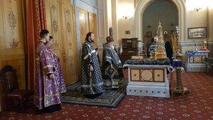 Перед началом Литургии Преждеосвященных