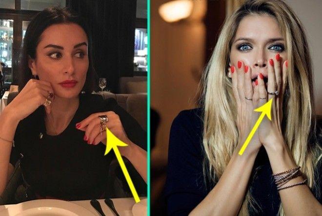 Вот что могут рассказать о вас кольца, которые вы носите на разных пальцах (7 фото)