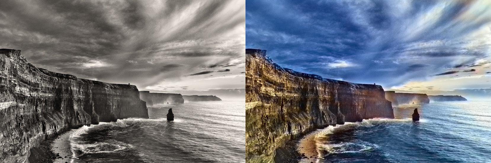 17-летний британец научил бота за несколько секунд раскрашивать черно-белые фотографии