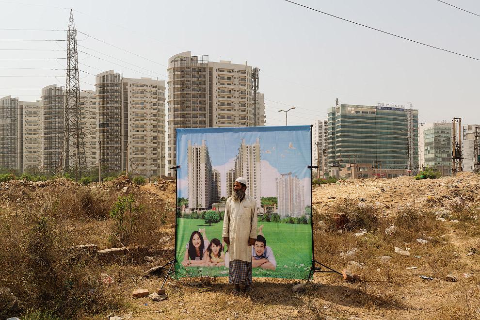 HD архитектура Индия небоскребы социальное