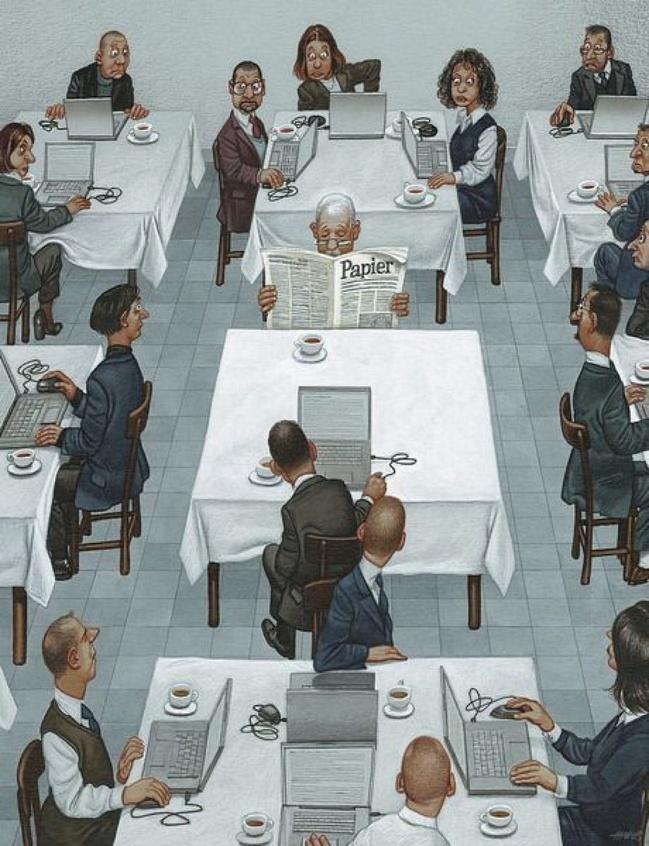 Австрийского художника приговорили ктюрьме захлесткие карикатуры, нооннебросил рисовать правду (16 фото)