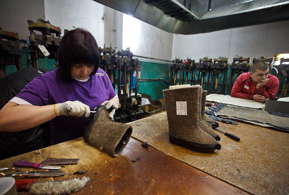 обувь познавательно производство