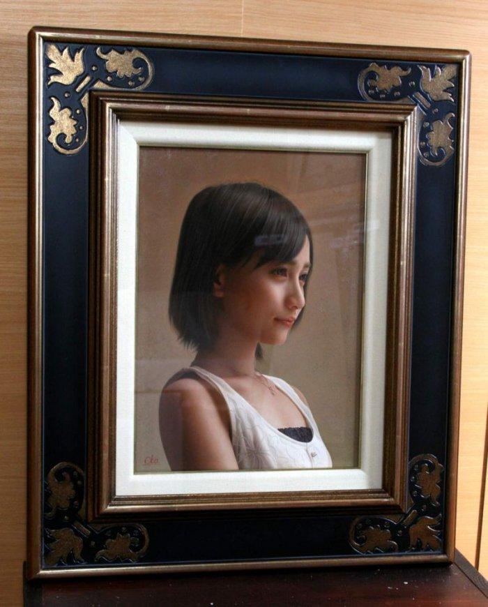 Живые девушки на полотнах Ясутомо Оки