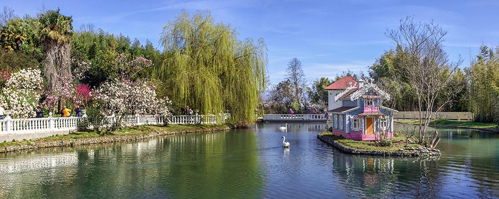 весна парк Сочи