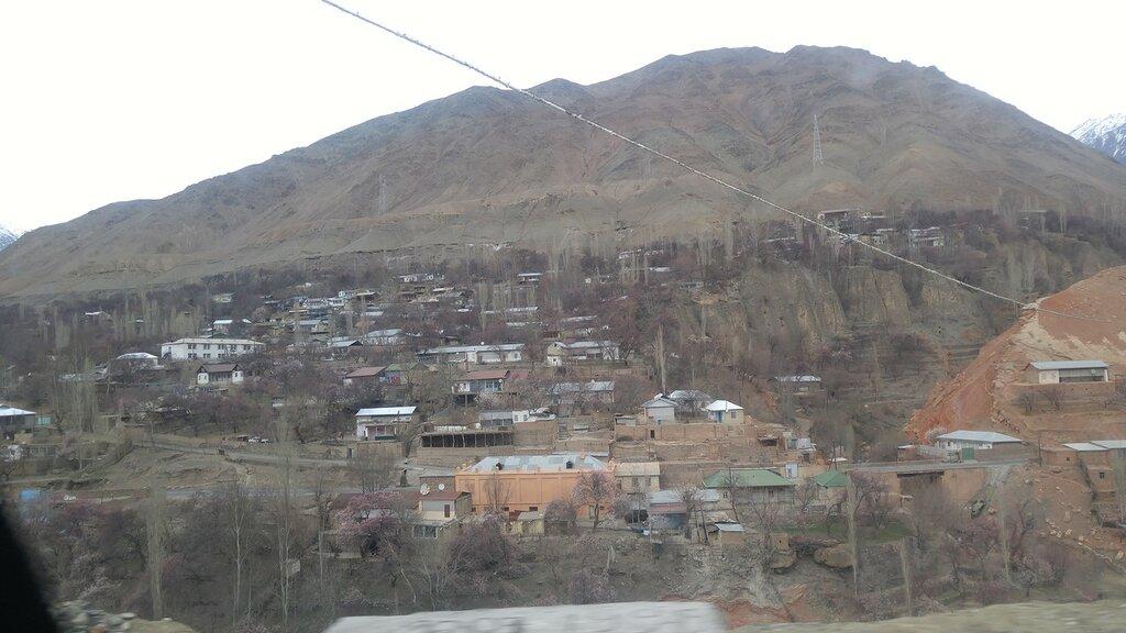 Таджикский кишлак.