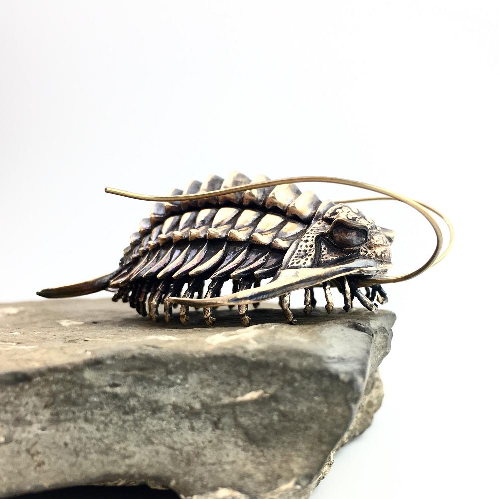 metal fossils