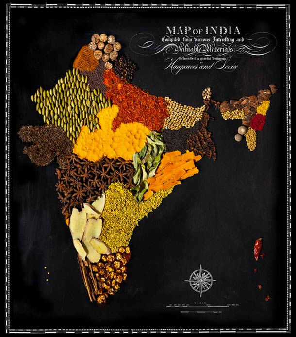 FOOD MAPS – The world seen through the origin of foods