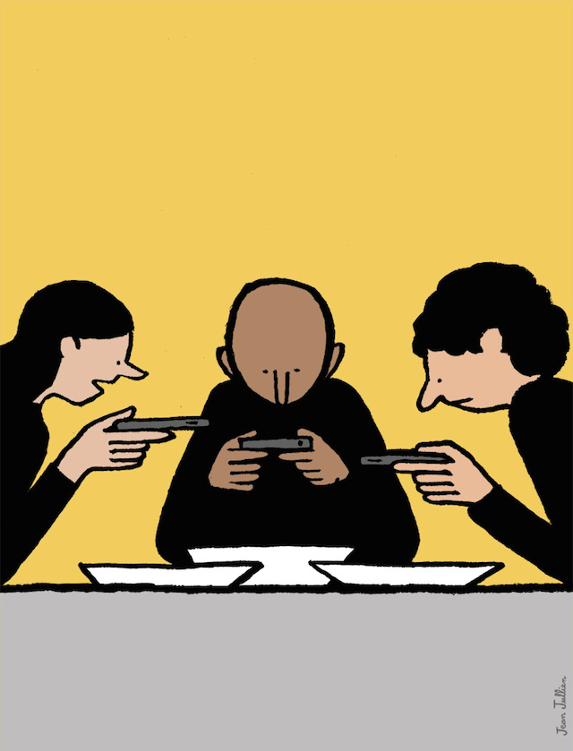 Funny Illustrations on the Digital Age