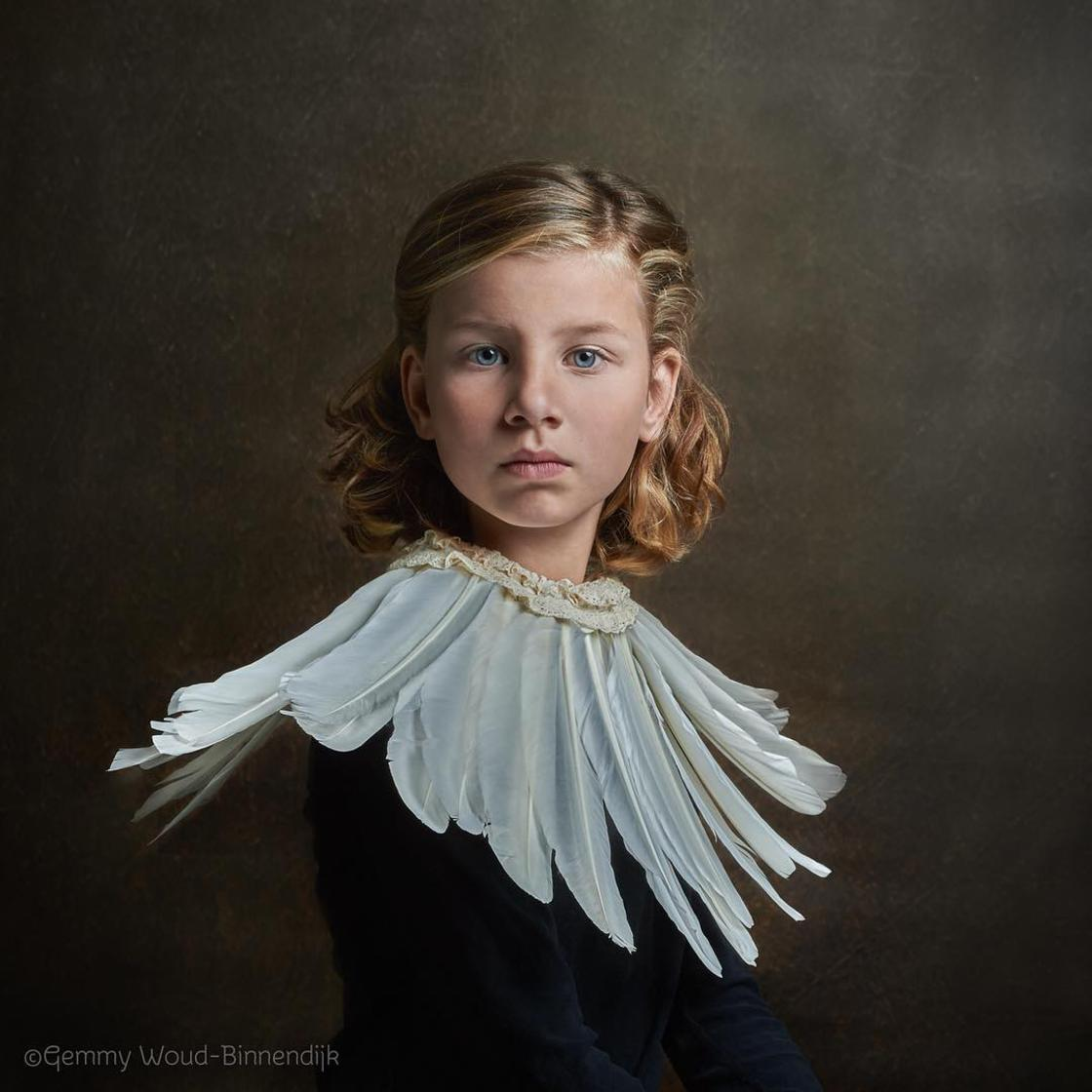 This photographer composes her portraits like the great masters of painting