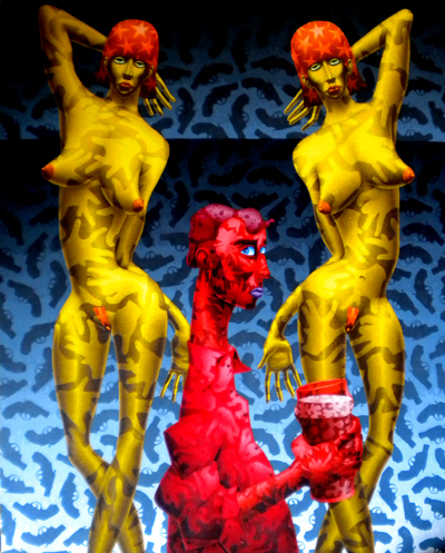 Neo Pop Surrealism - Stephen Hall
