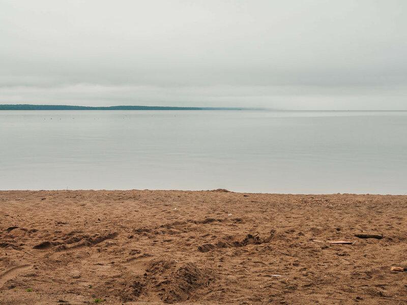 Онежское озеро в Медвежьегорске.