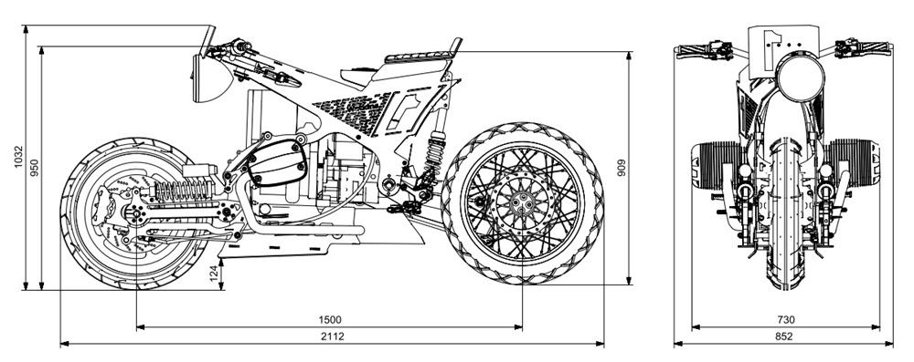 Watkins Motorworks: кастом Watkins M001 с мотором BMW R1150RT 2002